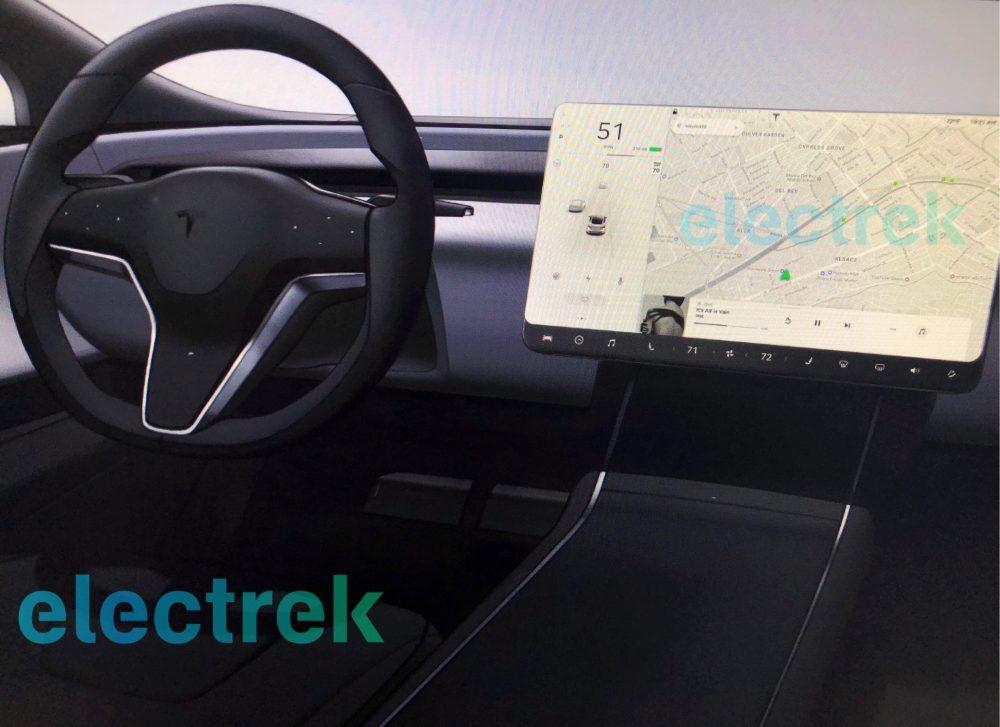 Was haltet ihr vom neuen Tesla Model S Interieur Design (2019 ...